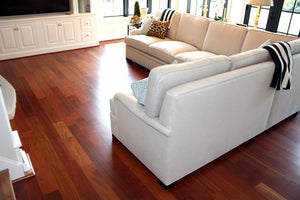 "5"" x 3/4"" Brazilian Cherry Solid Hardwood Flooring"