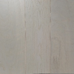 "5"" x 5/8"" Engineered White Oak Custom Grey Stain Hardwood Flooring"