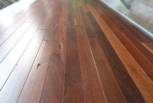 "2 1/4"" x 3/4"" Prefinished Jarrah Hardwood Flooring"