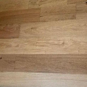 "7 1/2"" x 9/16"" Engineered European White Oak Bocklin Stain Hardwood Flooring"