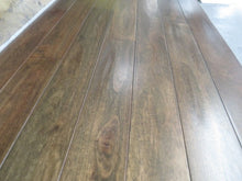 "Load image into Gallery viewer, 5"" x 3/4"" Prefinished Eucalyptus Custom Brown Stain Hardwood Flooring"