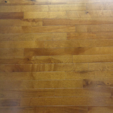 "Load image into Gallery viewer, 2 1/4"" x 3/4"" Prefinished Hickory Golden Brown Stain Hardwood Flooring"