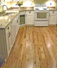 "Load image into Gallery viewer, 3 1/4"" x 3/4"" Prefinished Australian Cypress Solid Hardwood Flooring"