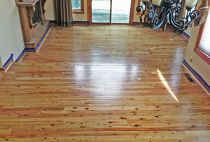 "3 1/4"" x 3/4"" Prefinished Australian Cypress Solid Hardwood Flooring"