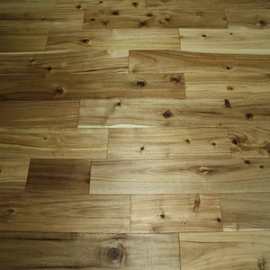 "5"" x 3/4""  Prefinished Asian Walnut Flooring Natural Stain"