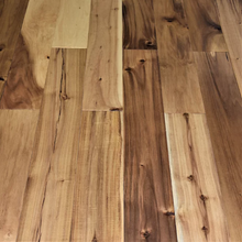 "Load image into Gallery viewer, 6 1/2"" x 9/16"" Engineered Asian Walnut Natural Stain Hardwood Flooring"