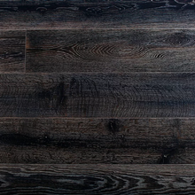 "Load image into Gallery viewer, 7 1/2"" x 9/16"" Engineered European White Oak Athens Stain Hardwood Flooring"
