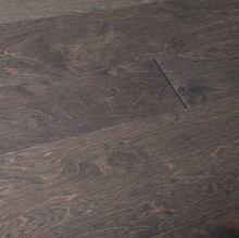 "Load image into Gallery viewer, 6 1/2"" x 3/8"" Engineered Birch Brown Forest Stain Hardwood Flooring"