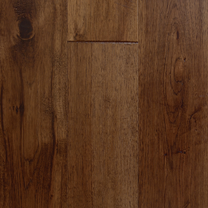 "7 1/2"" x 1/2"" Engineered Hickory Cannella Stain Hardwood Flooring"