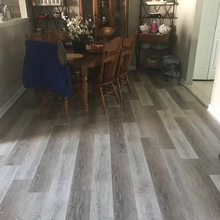 "Load image into Gallery viewer, 7"" Vinyl Plank Cumberland Isle Oak Stain Hardwood Flooring"