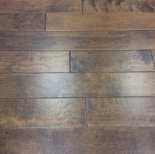 "Load image into Gallery viewer, 7 1/2"" x 1/2 Birch Engineered Dune Stain Hardwood Flooring"