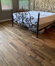 "Load image into Gallery viewer, 7 1/2"" x 5/8"" Engineered Walnut with French Bleed Hardwood Flooring"