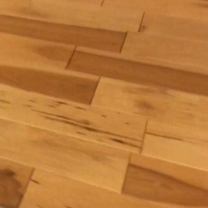 "4"" x 3/4"" Prefinished Maple Honey Stain Hardwood Flooring"