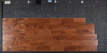 "Load image into Gallery viewer, 5"" x 3/4"" Rustic Grade Ash Hardwood Flooring with Gunstock Finish"