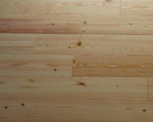 "5 1/4"" x 3/4"" Prefinished New Heart Pine Hardwood Flooring"