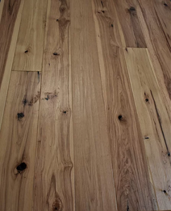 "7 1/2"" x 1/2"" Engineered Antique Hickory Hondo Engineered Flooring"