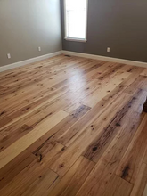 "Load image into Gallery viewer, 7 1/2"" x 1/2"" Engineered Antique Hickory Hondo Engineered Flooring"