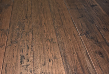 "Load image into Gallery viewer, 7 1/2"" x 1/2"" Engineered Antique Hickory Kerrville Stain Engineered Flooring"