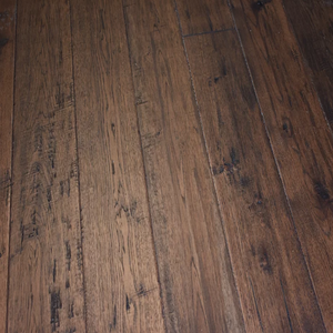 "7 1/2"" x 1/2"" Engineered Antique Hickory Kerrville Stain Engineered Flooring"