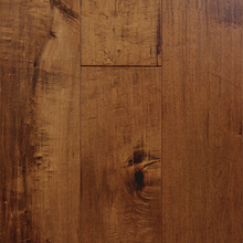 "Load image into Gallery viewer, 7 1/2"" x 1/2"" Engineered Maple Ramato Stain Flooring Hardwood Flooring"