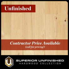 "Load image into Gallery viewer, 4"" x 3/4"" Red Oak Character Grade - 2' to 10' Lengths - Unfinished Hardwood Flooring"