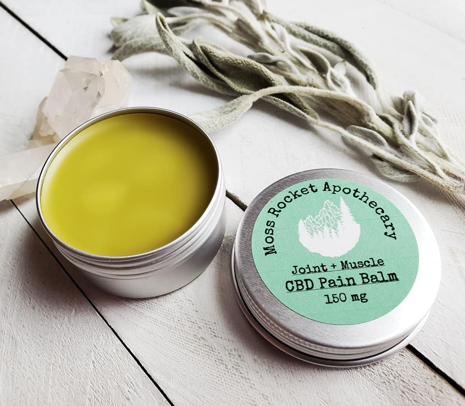 CBD Sore Joint and Muscle Pain Balm