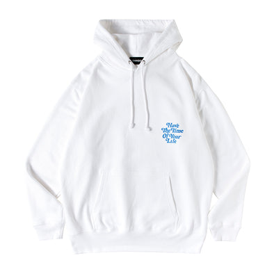 Hoodie Have The Time Of Your Life White×Blue