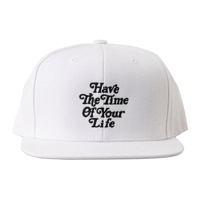 Cap Have The Time of Your Life White