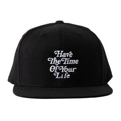 Cap Have The Time of Your Life Black