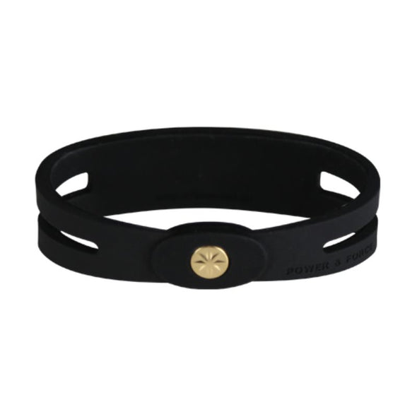 Metal Bracelet Black×Gold