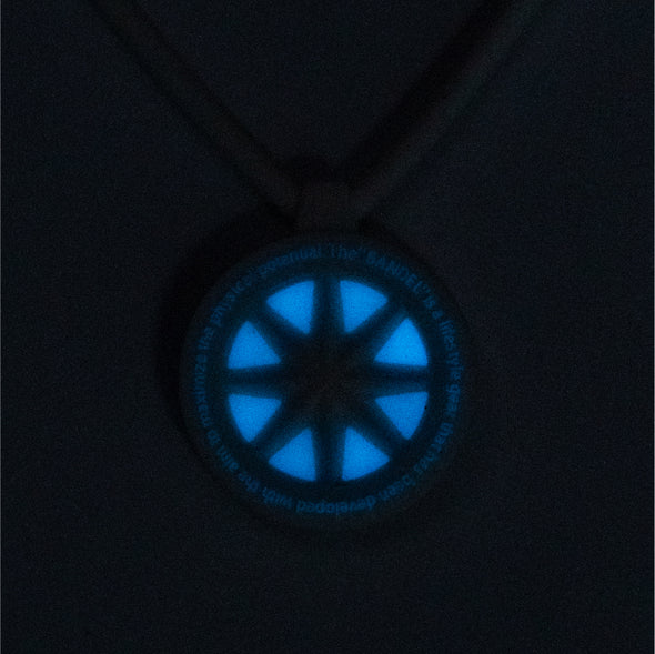 GHOST Luminous Necklace Black