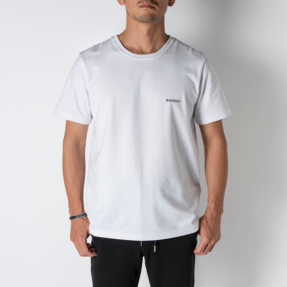 Short Sleeve T Multi Logo White