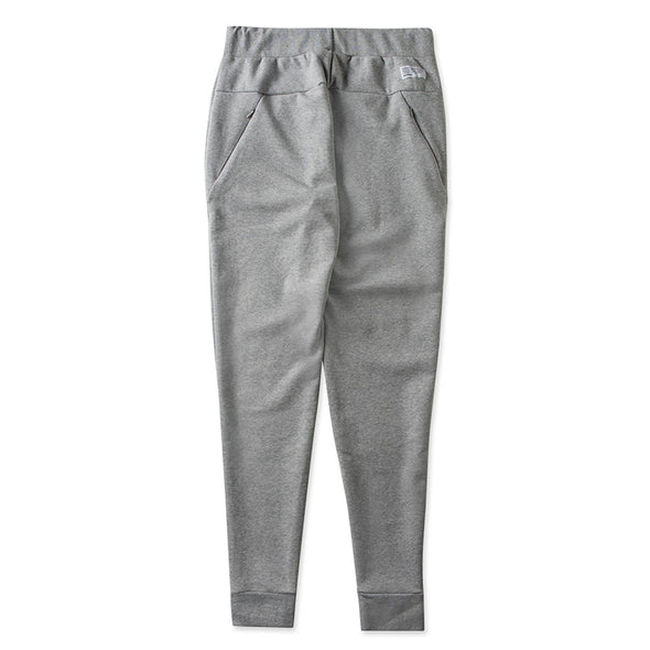 Jogger Pants brand label Heather Grey