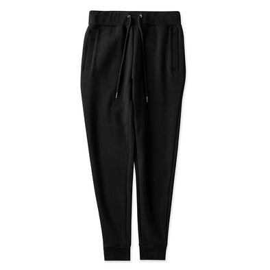 Jogger Pants brand label Black
