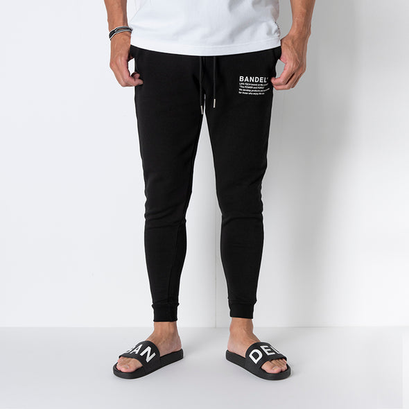 Jogger Pants concept notes Black