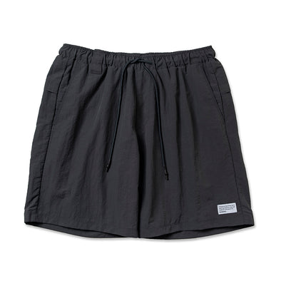 Walk Shorts  Brand Label Charcoal Grey