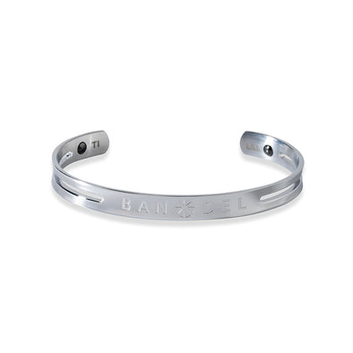 Titanium Bangle Silver