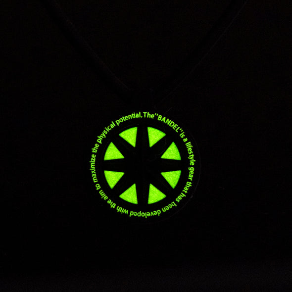 GHOST Luminous NEON Necklace Neon Yellow