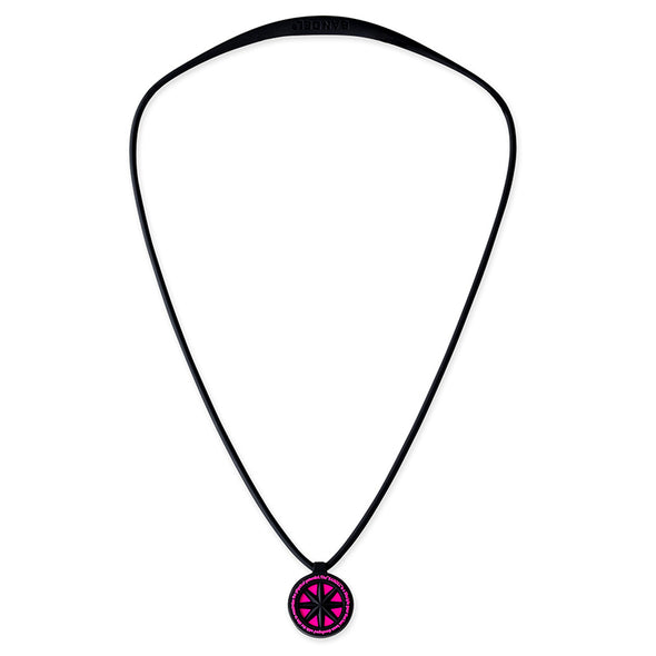 GHOST Luminous NEON Necklace Neon Pink
