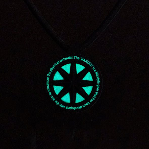 GHOST Luminous NEON Necklace Neon Blue