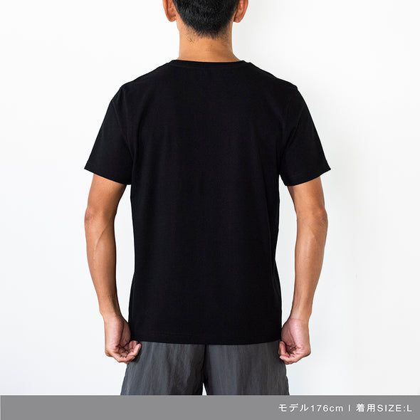 Short Sleeve T Geometry Camo Logo Black