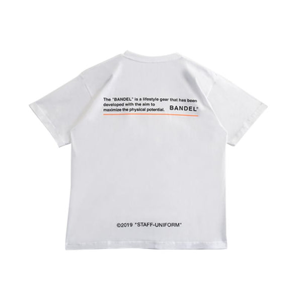 GHOST Short Sleeve T BAN-T010 White