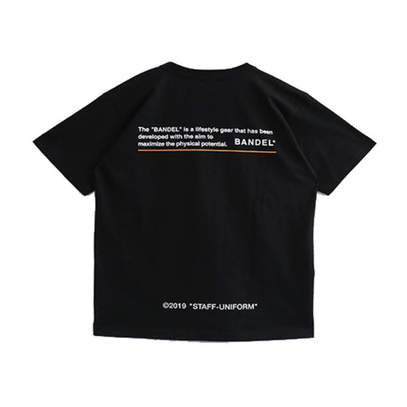GHOST Short Sleeve T BAN-T010 Black