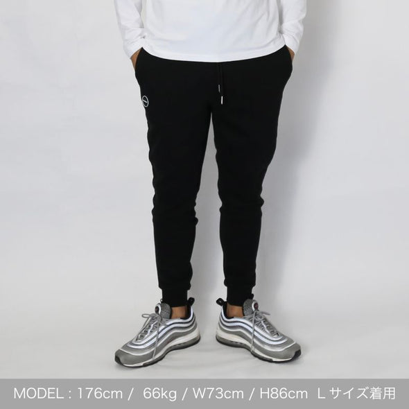 Jogger Pants Side BAN-JP004 Black