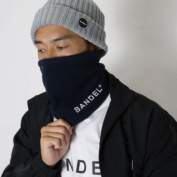 Neck Warmer Micro Fleece BAN-NW003 Navy×Grey