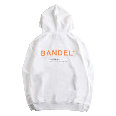 GHOST Hoodie BAN-HD007 White×Neon Orange