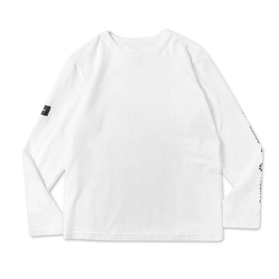 Sleeve Design  Long Sleeve T/White