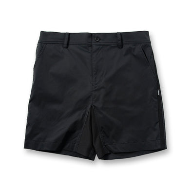 Water Repellent GOLF Pants Short Black