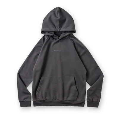 Hoodie  Small Logo Charcoal Grey