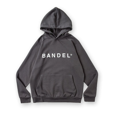 Hoodie  Front Logo Charcoal Grey